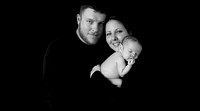 portraits-by-joy-family-photographer-black-and-white-portrait-with-newborn-boy