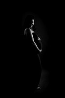Cheryl Maternity in Black and White by Portraits by Joy an Albuquerque Maternity Photographer